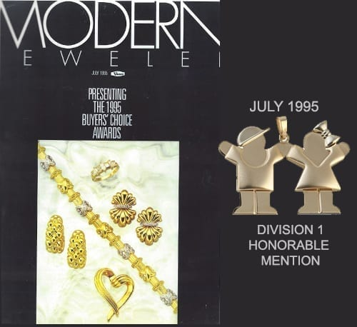 Modern Jeweler Buyers Choice Awards Division One Honorable Mention
