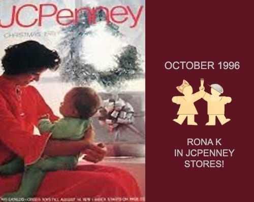 JC Penney 1000 Stores The Rona K. Kiss KIDS Arrive!