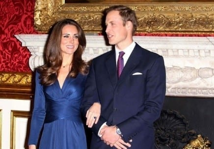 Kate Middleton's acceptance of Princess Diana's blue sapphire engagement ring from Prince William is an example the popularity of colored gemstones.