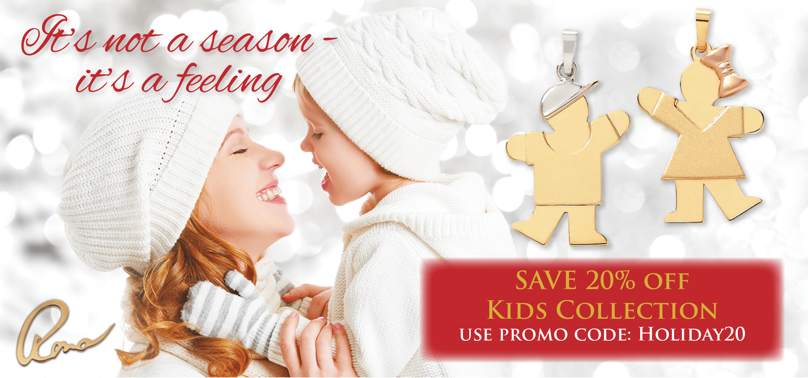It's not a season - It's a feeling - Happy Holidays from Rona K. Corp